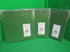 Lot of 3 Green Fabric Drawer styleselections  10.5-in x 10.5-in x 11-in H NIB
