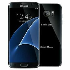 NEW Samsung Galaxy S7 edge SM-G935T-32GB-T-MOBILE Black Unlocked Smartphone