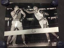 """Muhammad Ali Signed """"Cassius Clay"""" Authentic 20x24 Photo PSA/DNA ITP 4A53010"""