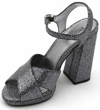 MICHAEL KORS WOMAN HIGH HEELS PUMPS SANDALS SHOES CASUAL GLITTER CODE 40S9AXHS2D