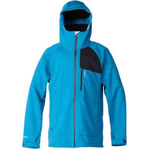 Quiksilver Drift Mens Insulated Snowboard Jacket Blue