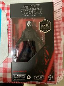 Hasbro Star Wars Black Series Game Stop Exclusive Darth Nihilus 6 Inch Figure