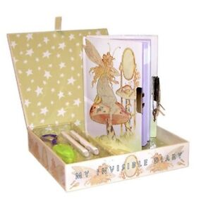 Children's Degas Dancer Invisible Ink Diary NIB Limited Supply