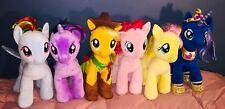 My Little Pony Build A Bear Clean Lot Of 9 Applejack Rainbow Dash Luna