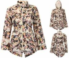Unbranded Hood Floral Coats & Jackets for Women