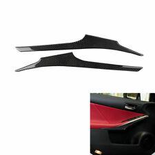 Auto Carbon Fiber Sticker Door Trim Strips  For Lexus IS250 NX200 300H 2013-2017