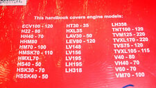 TECUMSEH 3-11 HP SMALL ENGINE PARTS TECHNICIAN REPAIR MANUAL SHOP BOOK
