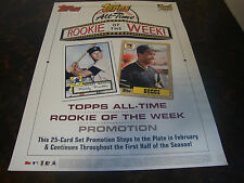 2006 Topps Baseball--Rookie Of The Week--Store Display Poster--Mantle---15x20