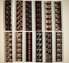Team America: World Police 2004 12 x 35mm Film Cell Cells Strip Movie Cinema (B)