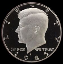 1985 S Kennedy Half Dollar Gem Deep Cameo Clad PROOF US Mint Coin