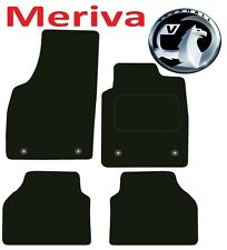Deluxe Quality Car Mats for Vauxhall Meriva 2005-2010 ** Black **