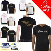 T-Shirt Yamaha MT - 03 uomo Maglia moto nera cotone 100% maglietta