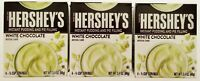 Pudding Lot 3 Hershey's White Chocolate Dessert Instant Pie Fill Low Calorie