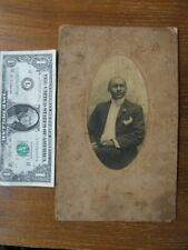 RARE Antique WEDDING Photograph of African American Man, c1890, GREENWOOD MISS.