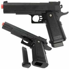G6 Heavy Metal Airsoft Gun Pistol Black with BB's