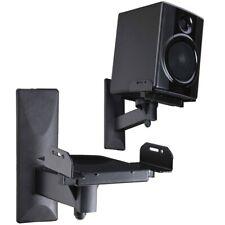 VideoSecu One Pair of Side Clamping Bookshelf Speaker Mounting Bracket