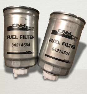 Case IH Tractor International GENUINE Diesel Fuel Filter 2pk 84214564 3132428R2