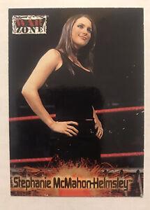 Stephanie McMahon Helmsley ROOKIE 2001 Fleer Raw is War #68 CARD RC WWE