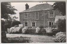 Cornwall postcard - Beach View Guest House, Porth - RP (A1178)