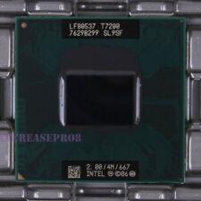 Intel Core 2 Duo Mobile T7200 SL9SF CPU Processor 667 MHz 2 GHz