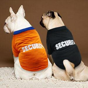Hundeshirts für Kleine Hunde Französische Bulldogge Hund T-shirt Hundebekleidung