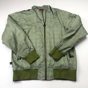 Jordan Medium Windbreaker Mens Full Zip Mesh Lined Jacket SMALL MARK