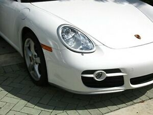 2005-2008 Porsche Cayman Euro Style Headlight Covers (UNPAINTED)