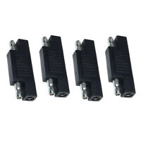 4 Pieces Solar SAE Polarity Reverse Adapter For Quick Disconnect Maintainers
