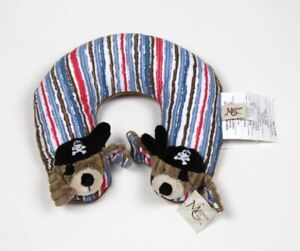 Maison Chic Patch the Pirate Travel Pillow Plush Baby Neck Support Pillow NWT