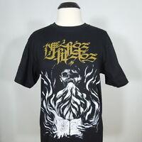 NECROS CHRISTOS Band Logo T-Shirt Black Men's size M (NEW)