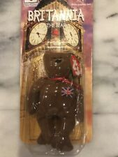 TY BRITANNIA THE BEAR  Toy McDonalds HAPPY MEAL TOY Unopened New Rare