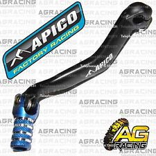 Apico Black Blue Gear Pedal Lever Shifter For Yamaha YZ 125 2014 Motocross New