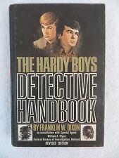 Franklin Dixon THE HARDY BOYS DETECTIVE HANDBOOK Revised Ed Grosset & Dunlap