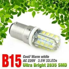 B15 3.5/5W LED Corn Bulb 2835SMD Ultra Bright AC 220V Light Cool Warm White Lamp