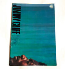 Jimmy Cliff Japan Tour 1978 Concert Program Book Reggae