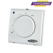 Timeguard TRT031 Electronic Frost Thermostat C/W Tamper Proof Cover 5º-10ºC SPST