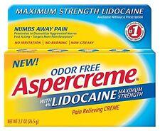 Aspercreme With Lidocaine Cream 2.7oz Each