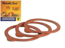 Rubber Jar Seals (Widemouth Size) Rings for Latch/Wire Lids *Pack of 3* NEW!