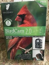 Wingscapes Bird Cam 2.0 Motion activated, Digital Wildlife camera/Memory card fr
