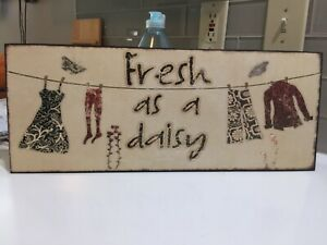 laundry room picture decor