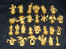 YUGIOH Golden Rubber PVC Keshi Figure Lot of 27