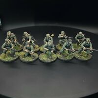 Pro Painted WW2 German Grenadier Squad - 28mm 1/56 - Bolt Action