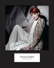 FLORENCE AND THE MACHINE #3 10x8 SIGNED Mounted Photo Print - FREE DELIVERY