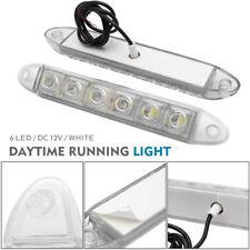 2X 12V LED STRIP DRL DAYTIME RUNNING LIGHTS FOG CAR LAMP WHITE DAY DRIVING