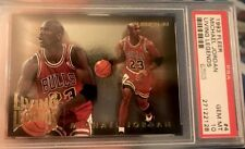 1993-94 FLEER MICHAEL JORDAN LIVING LEGENDS #4 PSA 10 GEM MINT FLAWLESS CORNERS!