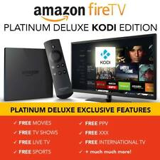 AMAZON FIRE TV BOX WITH KODI 17.6 - MOVIES/TV SHOWS/SPORTS/LIVE TV