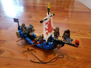 Vintage Lego 6057 Castle Black Knights Sea Serpent Complete