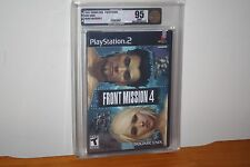 Front Mission 4 (Playstation 2 PS2) NEW SEALED UNCIRCULATED, MINT GOLD VGA U95!