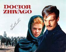 Julie Christie signed 8x10 Doctor Zhivago photo / autograph