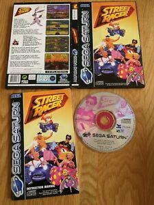 Street Racer Sega Saturn Complete PAL - Free P&P